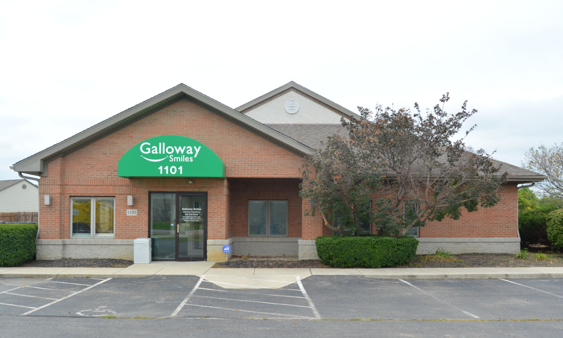 front entrance | dentist in galloway, oh